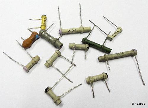 Conhecendo componentes eletronicos Tubular